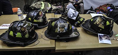 Firefighters raise money for special girl with CLL.