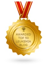 Me and Leuk voted #11 of 50 top leukemia sites