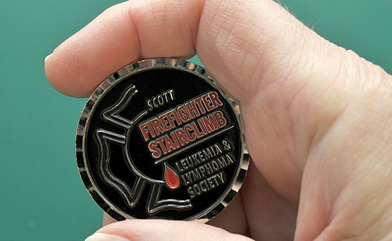 Scott Firefighter Stairclimb coin