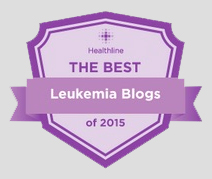 Healthline Award: One of the best leukemia blogs of 2015