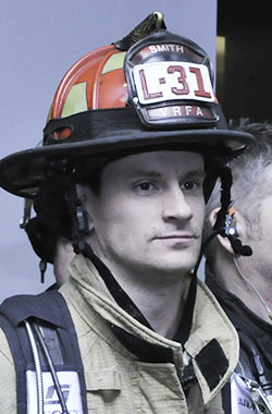 Captain Guy Smith, firefighter earns Medal of Commendation